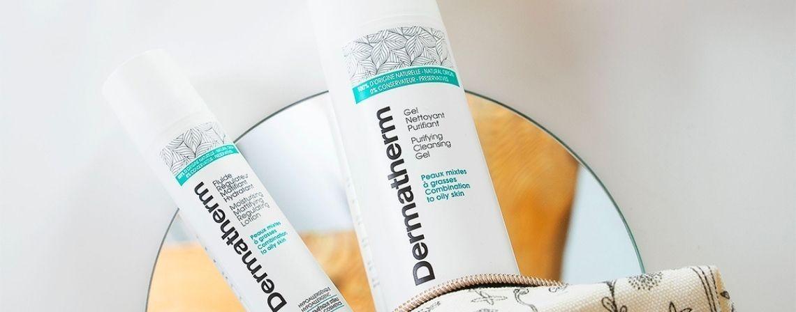 Nos soins pour les peaux mixtes à grasses - Dermatherm
