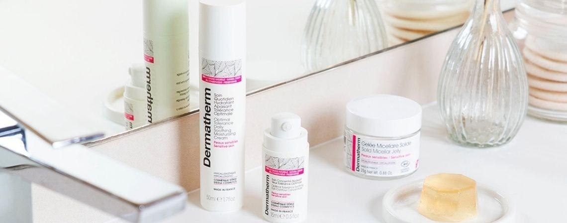 Nos soins pour les peaux sensibles - Dermatherm